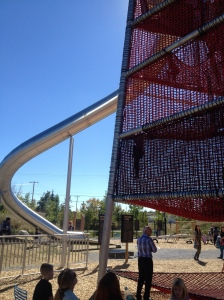 63-foot slide in the Brainasium park