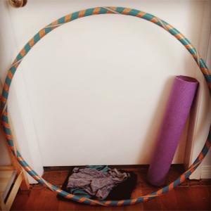 Hula hoop... check!